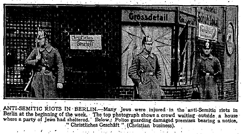 Internation Press and German Antisemitism