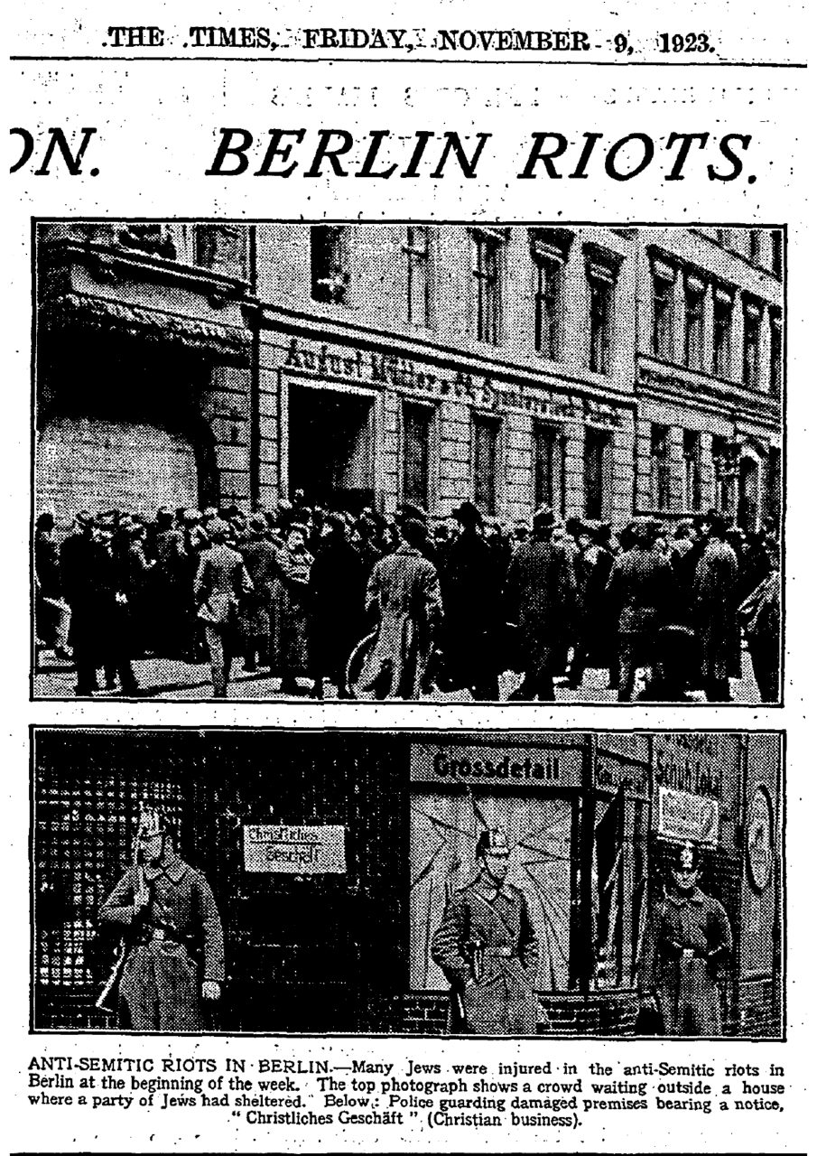 The Times 1923